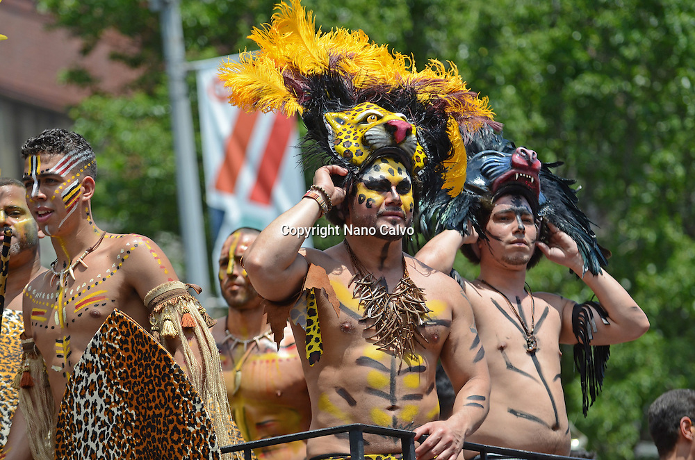 Queens Pride Parade in Jackson Heights, New York City