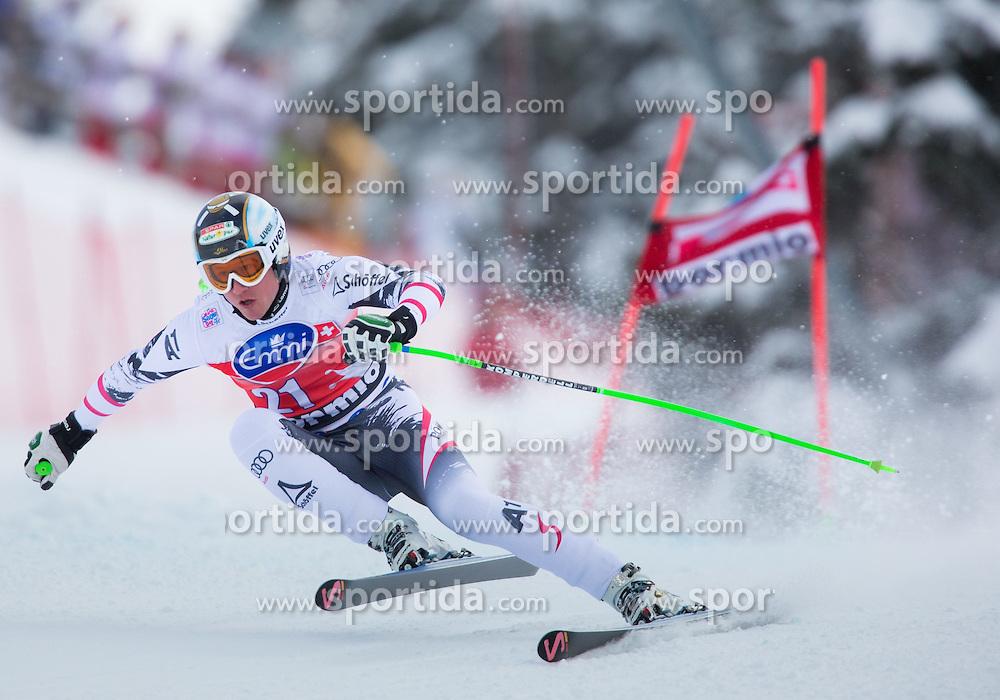 29.12.2013, Stelvio, Bormio, ITA, FIS Ski Weltcup, Bormio, Abfahrt, Herren, im Bild Hannes Reichelt (AUT, 2. Platz) // 2nd place Hannes Reichelt of Austria in action during mens downhill of the Bormio FIS Ski Alpine World Cup at the Stelvio Course in Bormio, Italy on 2013/12/29. EXPA Pictures © 2013, PhotoCredit: EXPA/ Johann Groder