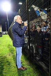 WALTER MATTIOLI<br /> FESTEGGIAMENTI ALLO STADIO<br /> SPAL PROMOSSA IN SERIE A