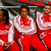 NLD/Amsterdam/20100731 - Wedstrijd om de JC schaal 2010 tussen Ajax - FC Twente, Urby Emanuelson, Mounir El Hamdaoui, Miralem Sulejmani