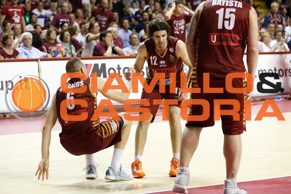 Michael Bramos, Ariel Filloy<br /> Umana Reyer Venezia - Dolomiti Energia Aquila Basket Trento<br /> Lega Basket Serie A 2016/17 Finali Gara 02<br /> Venezia, 12/06/2017<br /> Foto Ciamillo-Castoria / M. Brondi