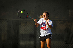 Pella, Iowa  September 12, 2013 -- Central College Women's Tennis.  Photo by Dan L. Vander Beek