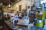 Hoboken Coffee Company in Guthrie for Oklahoma Today magazine