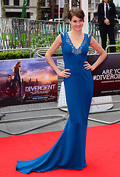 Shailene Woodley attends the European premiere of 'Divergent' , Odeon, London, United Kingdom. Sunday, 30th March 2014. Picture by Nils Jorgensen / i-Images