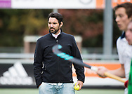 TILBURG -  assistent-coach Dennis Dijkshoorn (Tilburg)  . Hoofdklasse hockey competitie Tilburg-SCHC (4-2). COPYRIGHT KOEN SUYK
