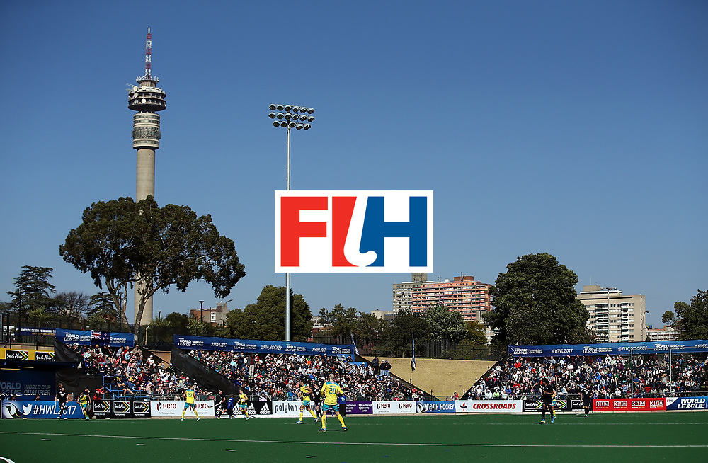 JOHANNESBURG, SOUTH AFRICA - JULY 15:  General view of play during day 4 of the FIH Hockey World League Men's Semi Finals Pool A match between New Zealand and Australia at Wits University on July 15, 2017 in Johannesburg, South Africa.  (Photo by Jan Kruger/Getty Images for FIH)