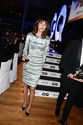 ALEXA CHUNG at the GQ Men of The Year Awards 2013 in association with Hugo Boss held at the Royal Opera House, London on 3rd September 2013.