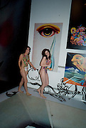 ALISON KANE;  RACHEL HAYTON, Exhibition opening ' Alan Aldridge- The Man With Kaleidoscope Eyes' hosted by his daughter Saffron Aldridge. Design Museum. Shad Thames. London  SE1. *** Local Caption *** -DO NOT ARCHIVE -Copyright Photograph by Dafydd Jones. 248 Clapham Rd. London SW9 0PZ. Tel 0207 820 0771. www.dafjones.com
