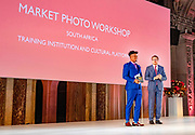 Koninklijke familie bij uitreiking Prins Claus Prijs 2018 aan de Market Photo Workshop; een cultureel platform en opleidingsinstituut in Johannesburg, Zuid-Afrika <br /> <br /> Royal family at the Prince Claus Award 2018 at the Market Photo Workshop; a cultural platform and training institute in Johannesburg, South Africa<br /> <br /> Op de foto / On the photo:  Prins Constantijn tijdens de uitreiking van de Grote Prins Claus Prijs 2018 / Prince Constantijn during the presentation of the Grand Prince Claus Award 2018
