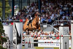 EHNING Marcus (GER), Pret A Tout<br /> Aachen - CHIO 2018<br /> Rolex Grand Prix<br /> Der Grosse Preis von Aachen<br /> 1. Umlauf<br /> 22. Juli 2018<br /> © www.sportfotos-lafrentz.de/Stefan Lafrentz