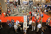 16 MAY 2009 -- PHOENIX, AZ: The trade show floor at the NRA convention in Phoenix Saturday. About 60,000 people were expected to attend the trade show at the 138th annual National Rifle Association Annual Meeting in the Phoenix Convention Center in Phoenix, AZ. Photo by Jack Kurtz