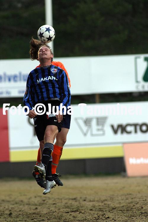 06.05.2004, Pohjola Stadion, Vantaa, Finland..Veikkausliiga 2004 / Finnish League 2004.AC Allianssi v FC Inter Turku.Samuli Lindel?f - Inter.©Juha Tamminen