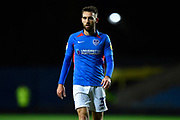 Ben Close (33) of Portsmouth during the Leasing.com EFL Trophy match between Oxford United and Portsmouth at the Kassam Stadium, Oxford, England on 8 October 2019.