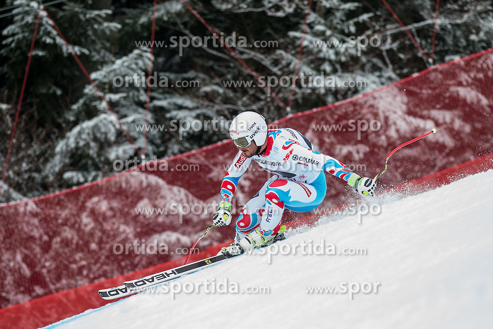 28.02.2015, Kandahar, Garmisch Partenkirchen, GER, FIS Weltcup Ski Alpin, Abfahrt, Herren, im Bild Guillermo Fayed (FRA) // Guillermo Fayed of France in action during the men's Downhill of the FIS Ski Alpine World Cup at the Kandahar course, Garmisch Partenkirchen, Germany on 2015/02/28. EXPA Pictures © 2015, PhotoCredit: EXPA/ Johann Groder