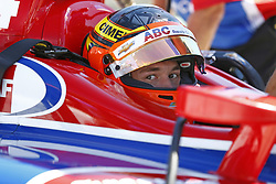 June 23, 2018 - Elkhart Lake, Wisconsin, United States of America - MATHEUS LEIST (4) of Brazil hangs out on pit road prior to taking to the track to practice for the KOHLER Grand Prix at Road America in Elkhart Lake, Wisconsin. (Credit Image: © Justin R. Noe Asp Inc/ASP via ZUMA Wire)