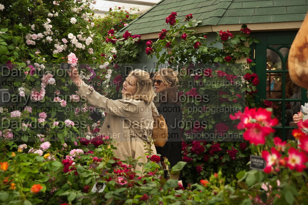 JO MILLER; SIENNA MILLER, Press and VIP viewing day. Chelsea Flower show, Royal Hospital Grounds. Chelsea. London. 18 May 2009