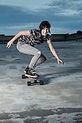 Stephanie Canady - Urban Skate