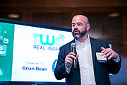 W!SE's 17th MoneyPOWER Institute for Financial Education on November 5, 2019. Brian Bean of Real World Classroom.