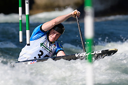 William SMITH of Great Britain during the Canoe Single (C1) Men SemiFinal race of 2019 ICF Canoe Slalom World Cup 4, on June 28, 2019 in Tacen, Ljubljana, Slovenia. Photo by Sasa Pahic Szabo / Sportida