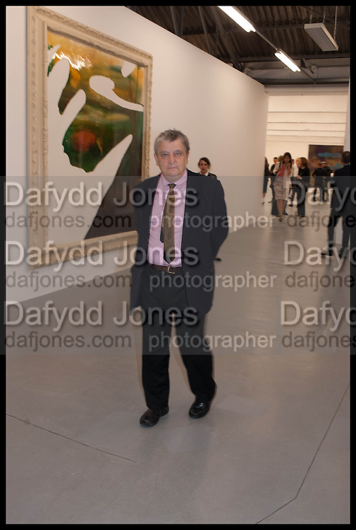 NORMAN ROSENTHAL, Frank Cohen and Nicolai Frahm host Julian Schnabel's 'Every Angel has a Dark Side,' private view and party. IN AID OF CHICKENSHED. Dairy Art Centre, 7a Wakefield Street, London. 24 APRIL 2014