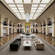 Lionakis- Senator Hotel/Office Lobby