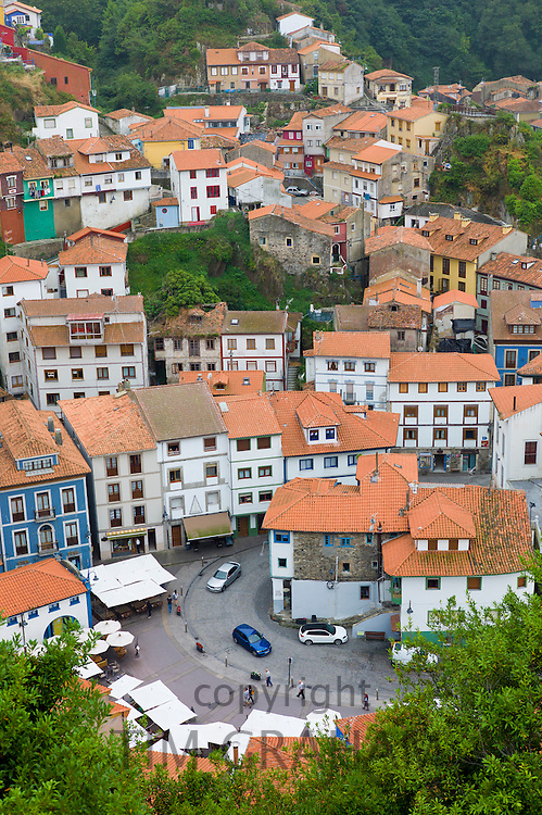 Fishing village of Cudillero in Asturias, Spain