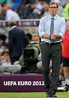 Fotball<br /> 11.06.2012<br /> EM 2012<br /> Frankrike v England<br /> Foto: Witters/Digitalsport<br /> NORWAY ONLY<br /> <br /> Trainer Laurent Blanc (Frankreich)<br /> Fussball EURO 2012, Vorrunde, Gruppe D, Frankreich - England 1:1