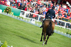 Harwood Louise, (GBR), Mr Potts<br /> Dressage <br /> Mitsubishi Motors Badminton Horse Trials - Badminton 2015<br /> © Hippo Foto - Jon Stroud<br /> 07/05/15