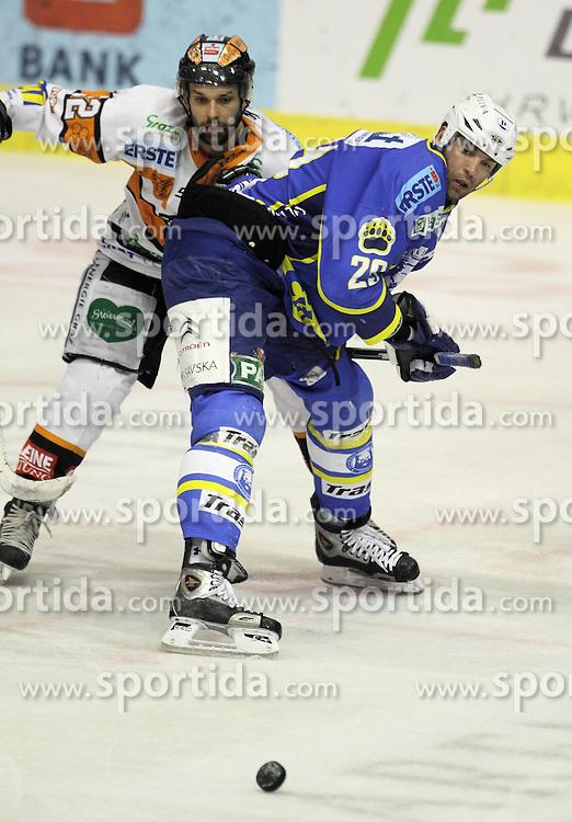 28.02.2010, Dom sportova, Zagreb, CRO, EBEL, KHL Medvescak Zagreb vs Graz 99ers, im Bild Prpic Joel. EXPA Pictures © 2010, PhotoCredit: EXPA/ PIXSELL / SPORTIDA PHOTO AGENCY