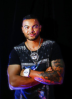 SYDNEY, AUSTRALIA - SEPTEMBER 27:  Guy Sebastian poses poses for a portrait ahead of the Nickelodeon Slimefest 2013 matinee show at Sydney Olympic Park Sports Centre on September 27, 2013 in Sydney, Australia.  (Photo by Marianna Massey/Getty Images)