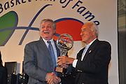 DESCRIZIONE : Monza Vila Reale Italia Basket Hall of Fame<br /> GIOCATORE :  Pino Brumatti Alessandro Gamba<br /> SQUADRA : FIP Federazione Italiana Pallacanestro <br /> EVENTO : Italia Basket Hall of Fame<br /> GARA : <br /> DATA : 29/06/2010<br /> CATEGORIA : Premiazione<br /> SPORT : Pallacanestro <br /> AUTORE : Agenzia Ciamillo-Castoria/M.Gregolin