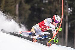 26.01.2020, Streif, Kitzbühel, AUT, FIS Weltcup Ski Alpin, Slalom, Herren, im Bild Henrik Kristoffersen (NOR) // Henrik Kristoffersen of Norway in action during his run in the men's Slalom of FIS Ski Alpine World Cup at the Streif in Kitzbühel, Austria on 2020/01/26. EXPA Pictures © 2020, PhotoCredit: EXPA/ Johann Groder
