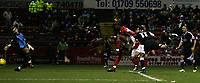 Photo: Paul Thomas.<br /> Rotherham United v Swansea City. Coca Cola League 2. 27/02/2007.<br /> <br /> Pawel Abbott (11) of Swansea scores.