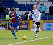 Dundee&rsquo;s Craig Wighton and Inverness&rsquo; Danny Williams  - Inverness Caledonian Thistle  v Dundee, Ladbrokes Scottish Premiership at Caledonian Stadium <br /> <br />  - &copy; David Young - www.davidyoungphoto.co.uk - email: davidyoungphoto@gmail.com
