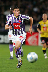 Andre Pierre Gignac of Toulouse in action during the 1/4 Final of la Coupe de France, Stade Municipal, Toulouse, France, 18th March 2009.
