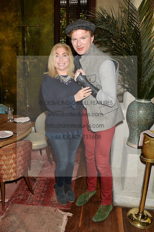 BRIX SMITH START and HENRY CONWAY at the launch of Sunday Brunch at Momo's, 25 Heddon Street, London on 23rd February 2014.