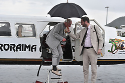 The Prince of Wales arrives for a visit to the island of Tortola in the British Virgin Islands as he continues his tour of hurricane-ravaged Caribbean islands.