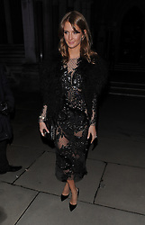 Millie Mackintosh attended Julien Macdonald's London Fashion Week AW14 show at The Royal Courts of Justice in London, UK. 15/02/2014<br />