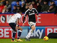 John Swift of Brentford during the Sky Bet Championship match between Bolton Wanderers and Brentford at the Macron Stadium, Bolton<br /> Picture by Mark D Fuller/Focus Images Ltd +44 7774 216216<br /> 30/11/2015