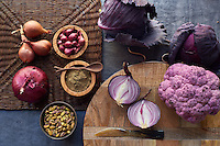Many purple foods contain   nutrients called anthocyanins, which can protect cells from free radicals
