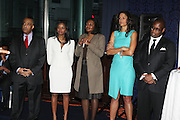 14 April 2010- New York, NY- l to r: Rev. Al Sharpton, Tamika Mallory, Thersa Holmes, Veronica Webb and Andre Harrell at the Executive Director's Reception hosted by Veronica Webb and Andre Harrell and held at The Central Park East Ballroom, Sheraton New York Hotel on April 14, 2010 in New York City.