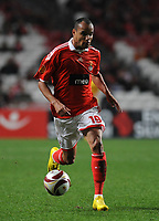 20091217: LISBON, PORTUGAL - SL Benfica vs AEK Athens: Europa League 2009/2010 - Group Stage. In picture: Weldon (Benfica). PHOTO: Alvaro Isidoro/CITYFILES