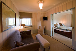 A well appointed room at the Hotel Care Diem in De Haan, Belgium, Sunday, Sept. 14, 2008. (Photo © Jock Fistick)