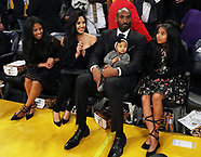Kobe Bryant's Jerseys are Retired -  18 December 2017
