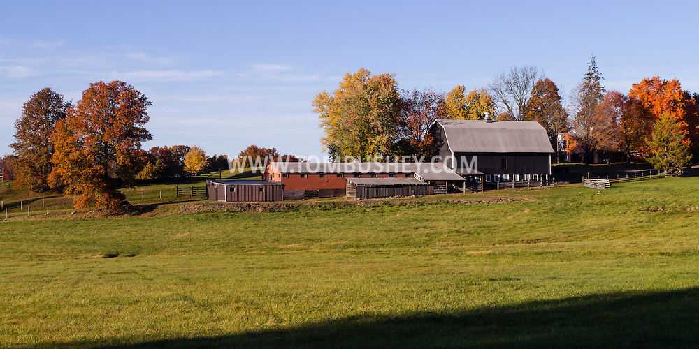 Salisbury Mills, New York - Scenes from an autumn afternoon  on Oct.26, 2015.