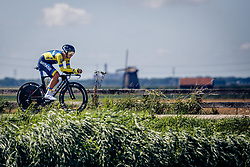 VASYLYUK Andriy from UKRAINE during Men Elite Time Trial at 2019 UEC European Road Championships, Alkmaar, The Netherlands, 8 August 2019. <br /> <br /> Photo by Thomas van Bracht / PelotonPhotos.com <br /> <br /> All photos usage must carry mandatory copyright credit (Peloton Photos | Thomas van Bracht)