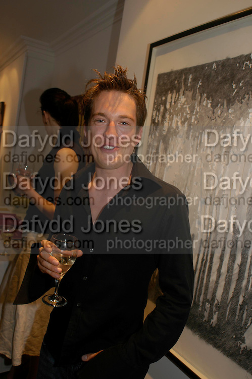 Adam Ball. Adam Ball ' All that Glitters' private view hosted by Manfredi della Gherardesca and Patrizia Papachristidis .  Charles St. London. 19 June 2005. ONE TIME USE ONLY - DO NOT ARCHIVE  © Copyright Photograph by Dafydd Jones 66 Stockwell Park Rd. London SW9 0DA Tel 020 7733 0108 www.dafjones.com