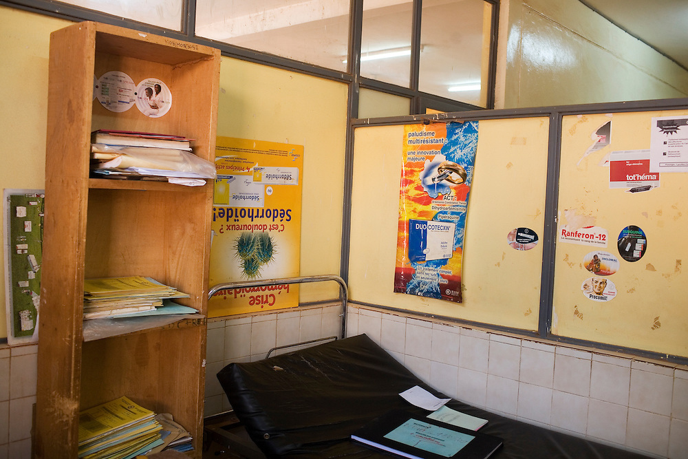 Area for staff in the delivery room in the maternity ward, Hospital Yalgado, Ouagadougou, Burkina Faso