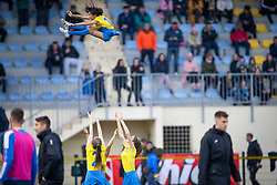 Cheerleader seen during football match between NK Domzale and NK Triglav in Round #18 of Prva liga Telekom Slovenije 2019/20, on November 23, 2019 in Sports park Domzale, Slovenia. Photo by Sinisa Kanizaj / Sportida