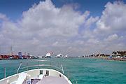 Cruise Ships,  Port of Miami, Miami, Florida, Dodge Island, Intracoastal Waterway, USA